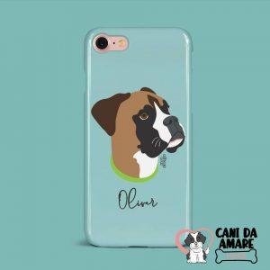Cover cellulare con disegno del cane