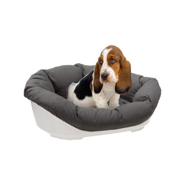 Cuscino di ricambio per cesta in plastica per cani